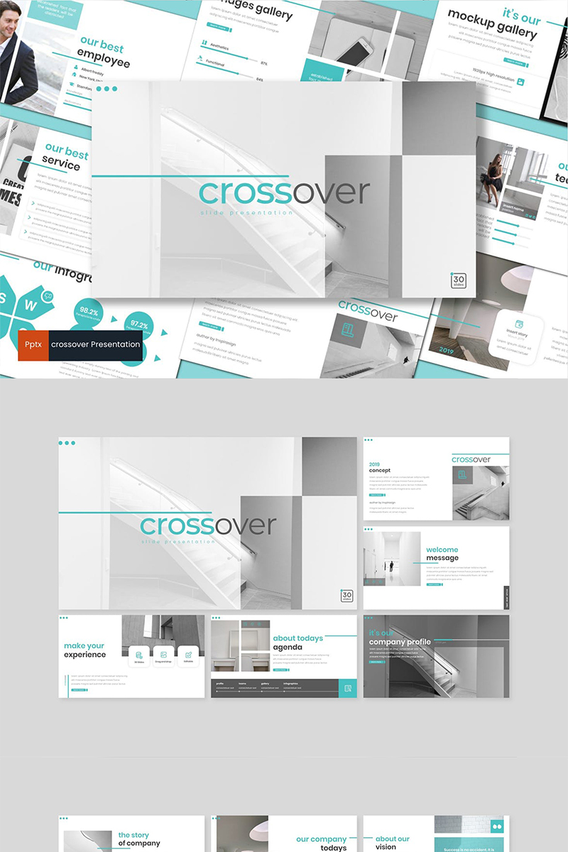 Crossover PowerPoint Template