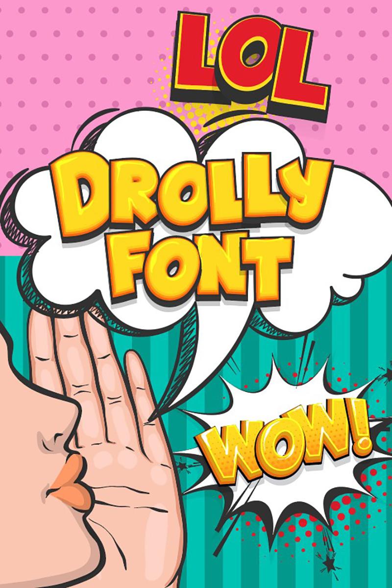 Drolly Comic Yazıtipi #89177