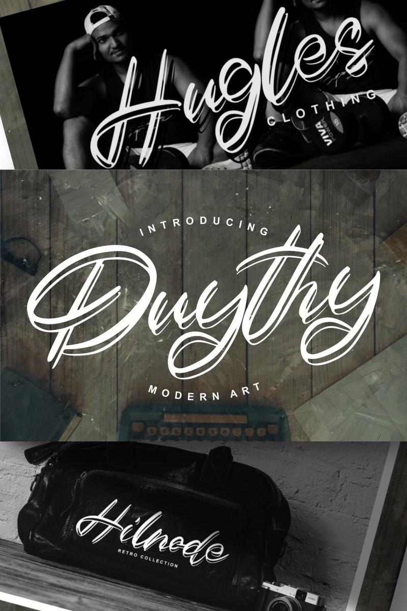 Duythy | Modern Art Yazıtipi #89167