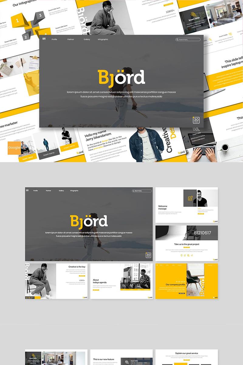 "Google Slides ""Bjord"" #89100"