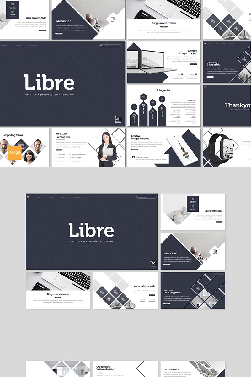 "Google Slides namens ""Libre"" #89155"
