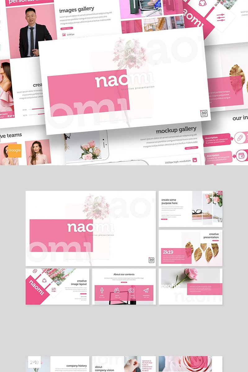 "Google Slides ""Naomi"" #89152"