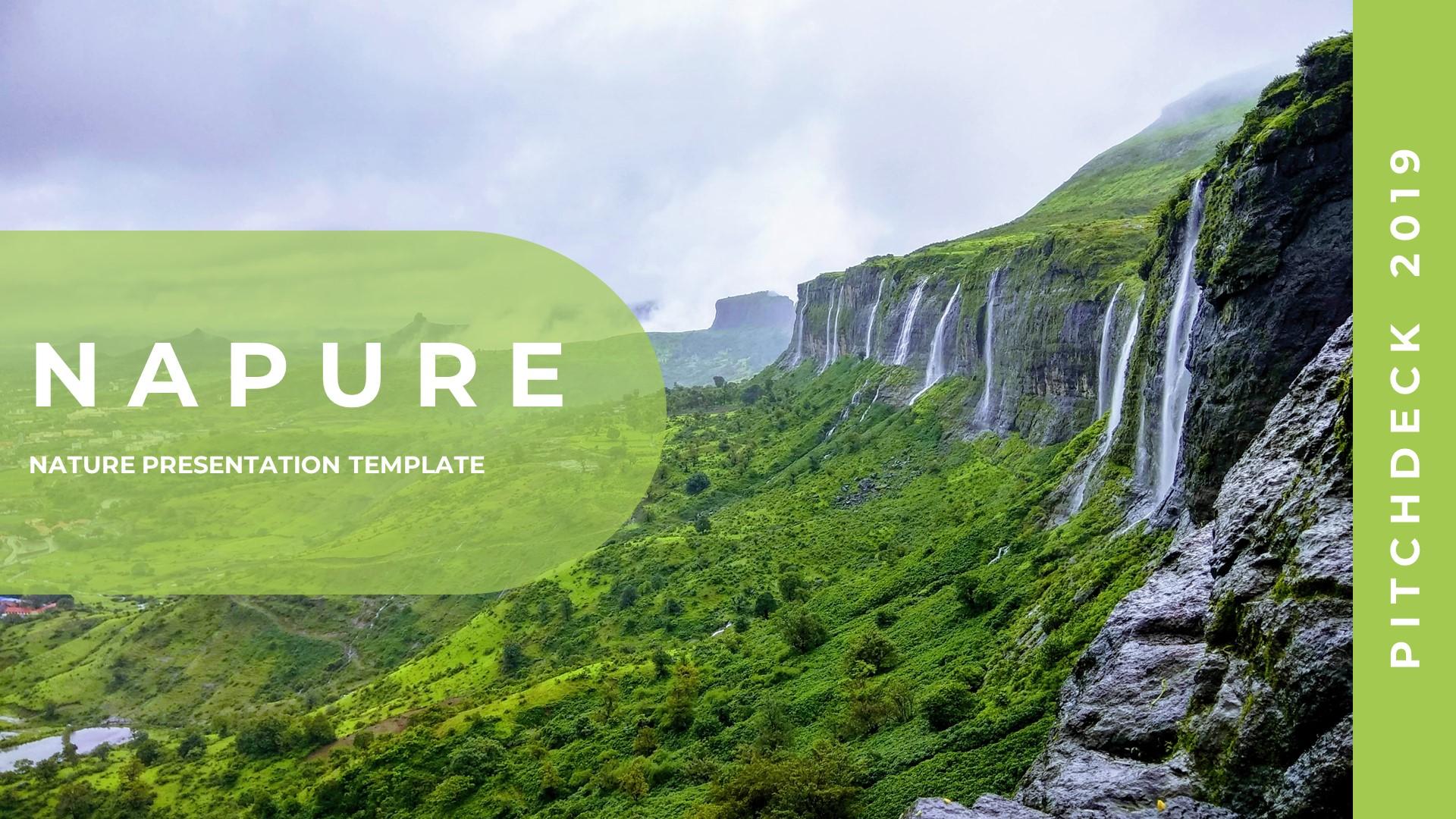 "Google Slides ""Napure - Creative Nature"" #89102"