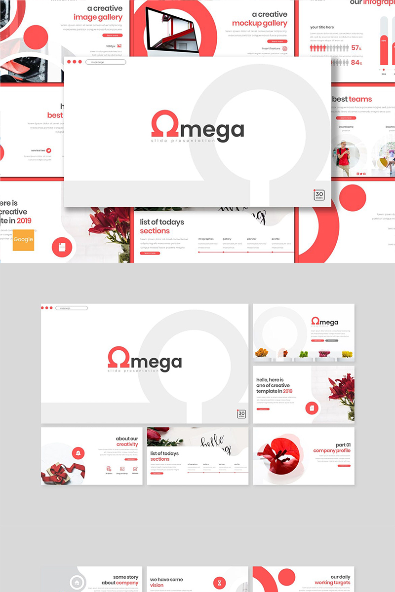 Google Slides Omega #89148