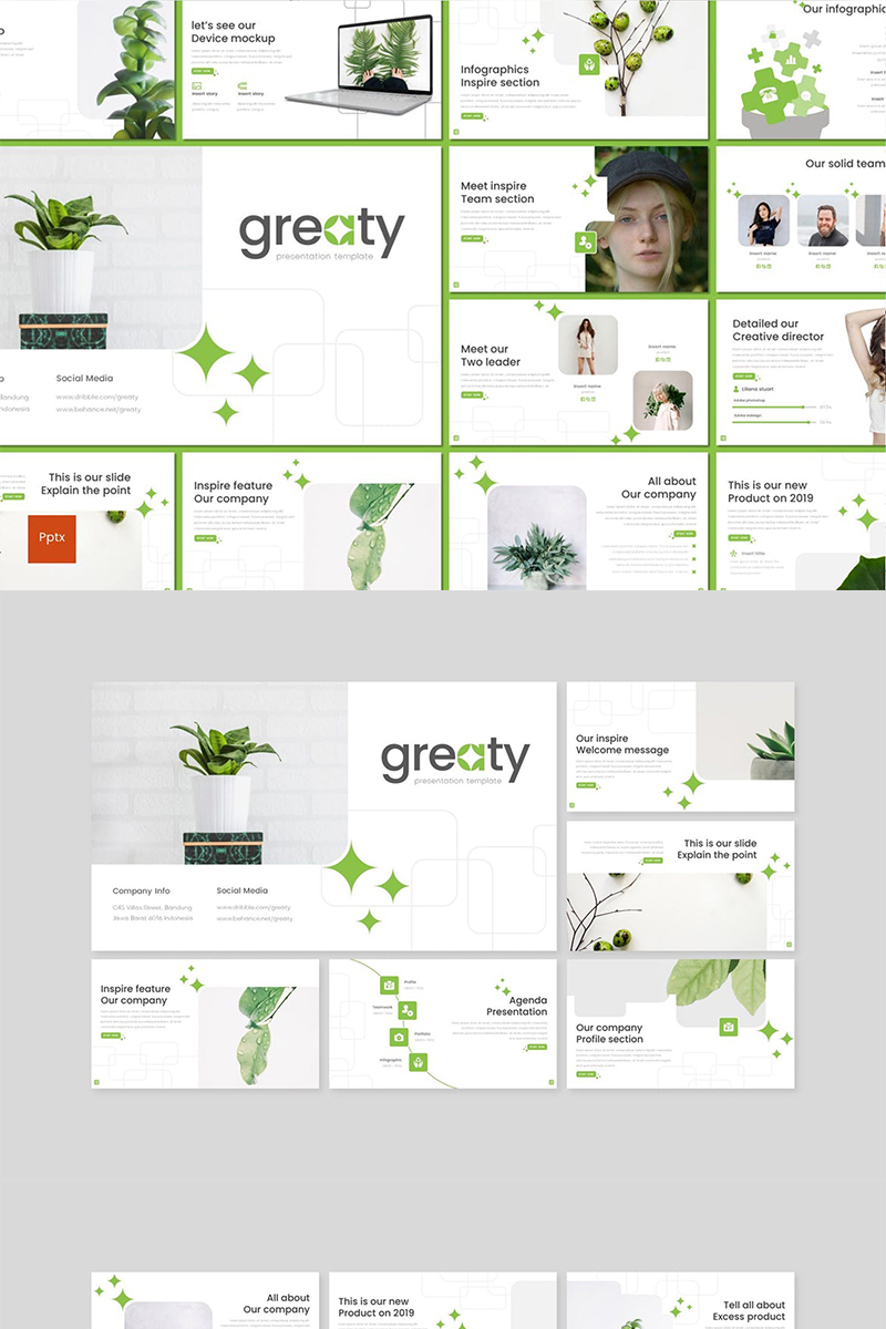 Greaty PowerPoint Template