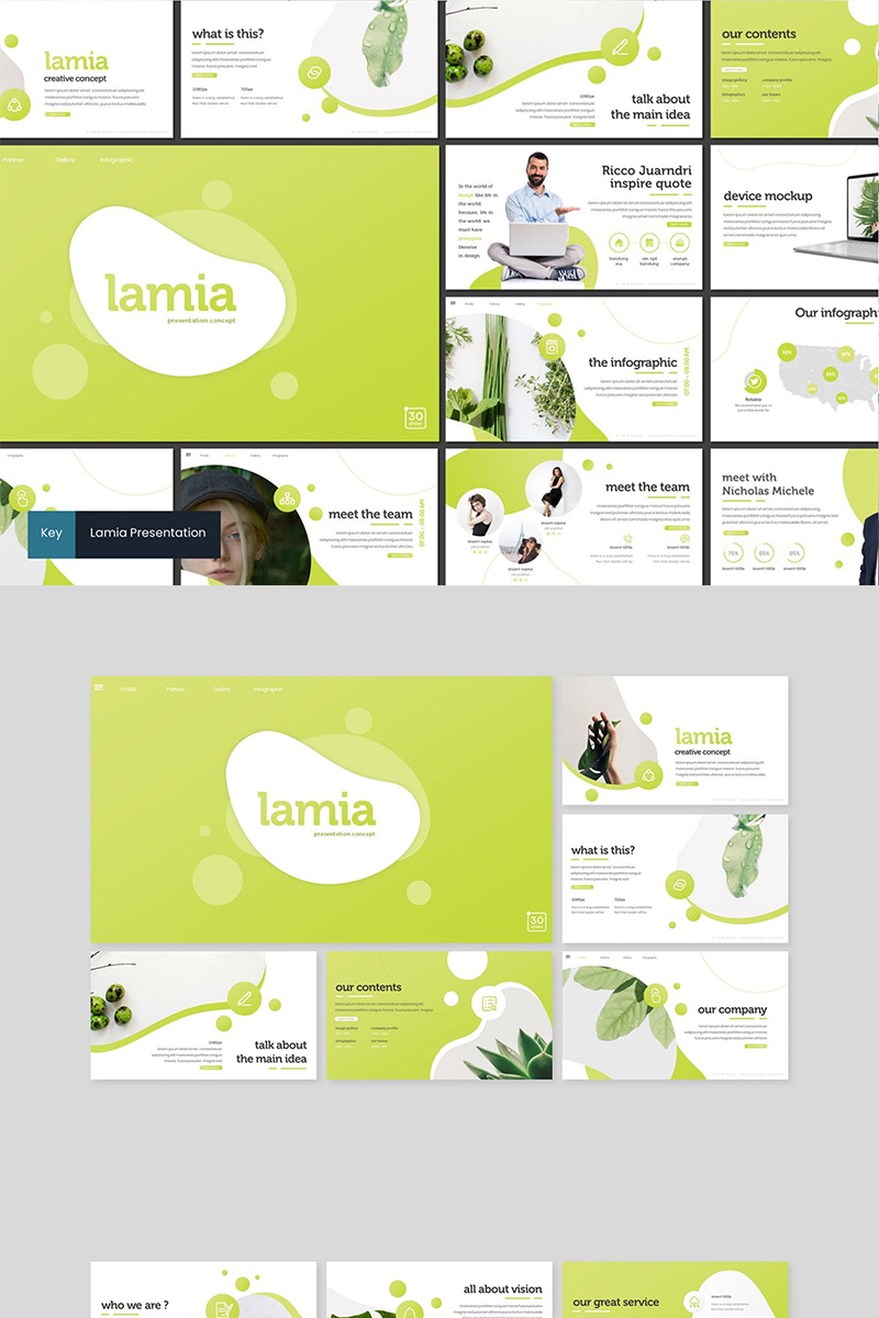 Lamia Keynote Template