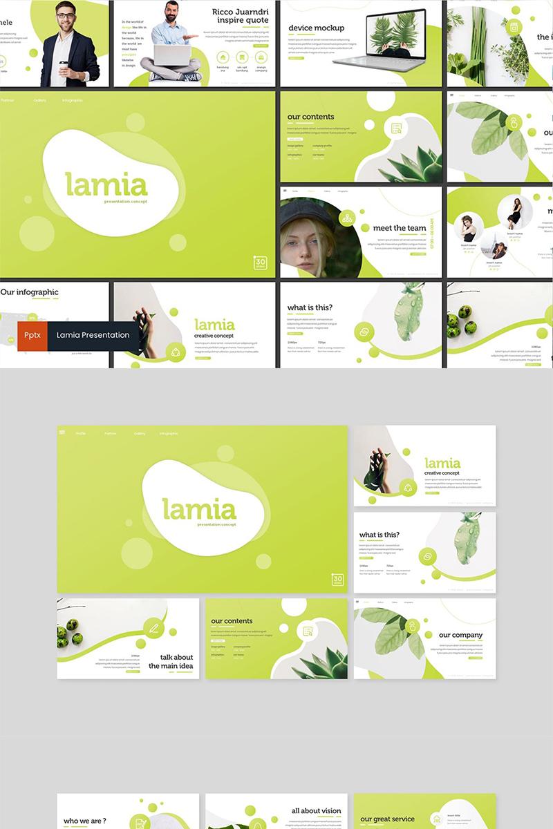 Lamia PowerPoint sablon 89127