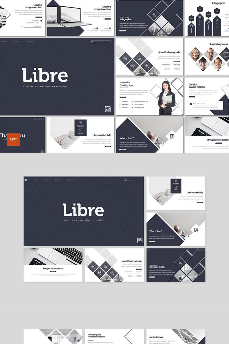 Libre PowerPoint sablon 89125