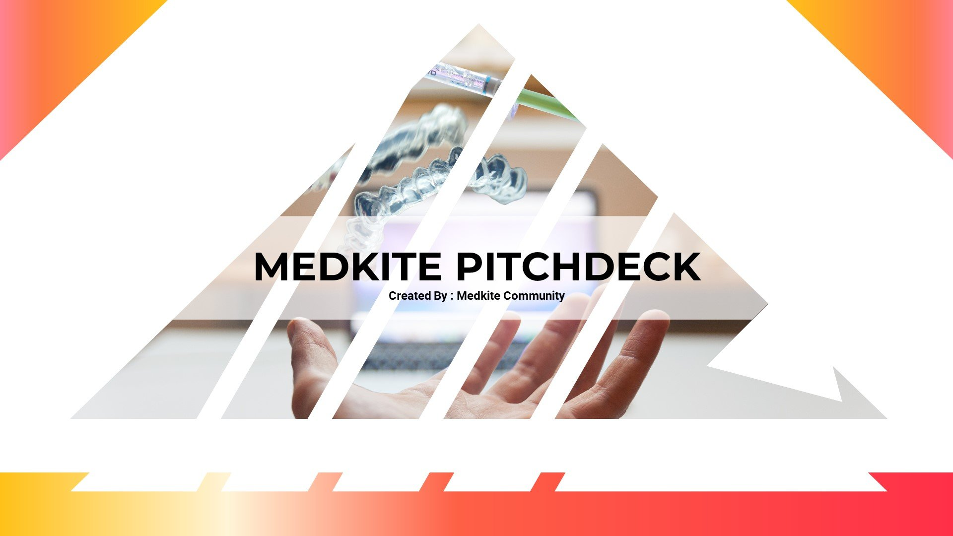 Medkite - Creative Medical Google Slides - screenshot