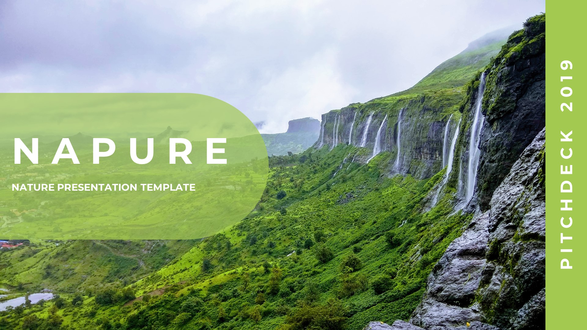 Napure - Creative Nature Google Slides - screenshot