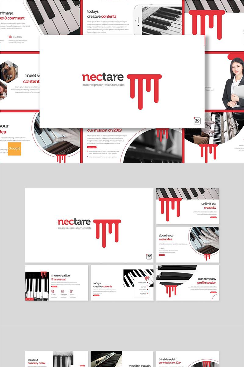 """""""Nectare"""" Google Slides №89151"""