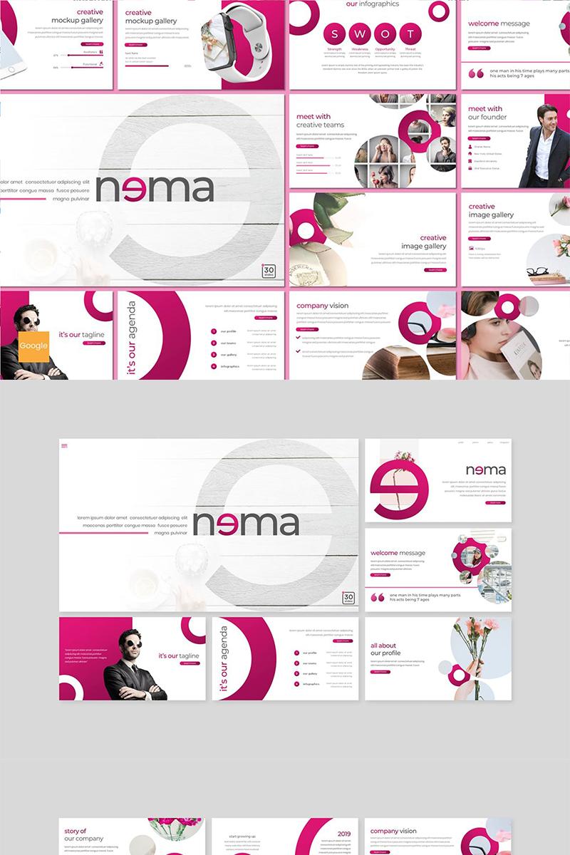 """""""Nema"""" Google Slides №89150"""