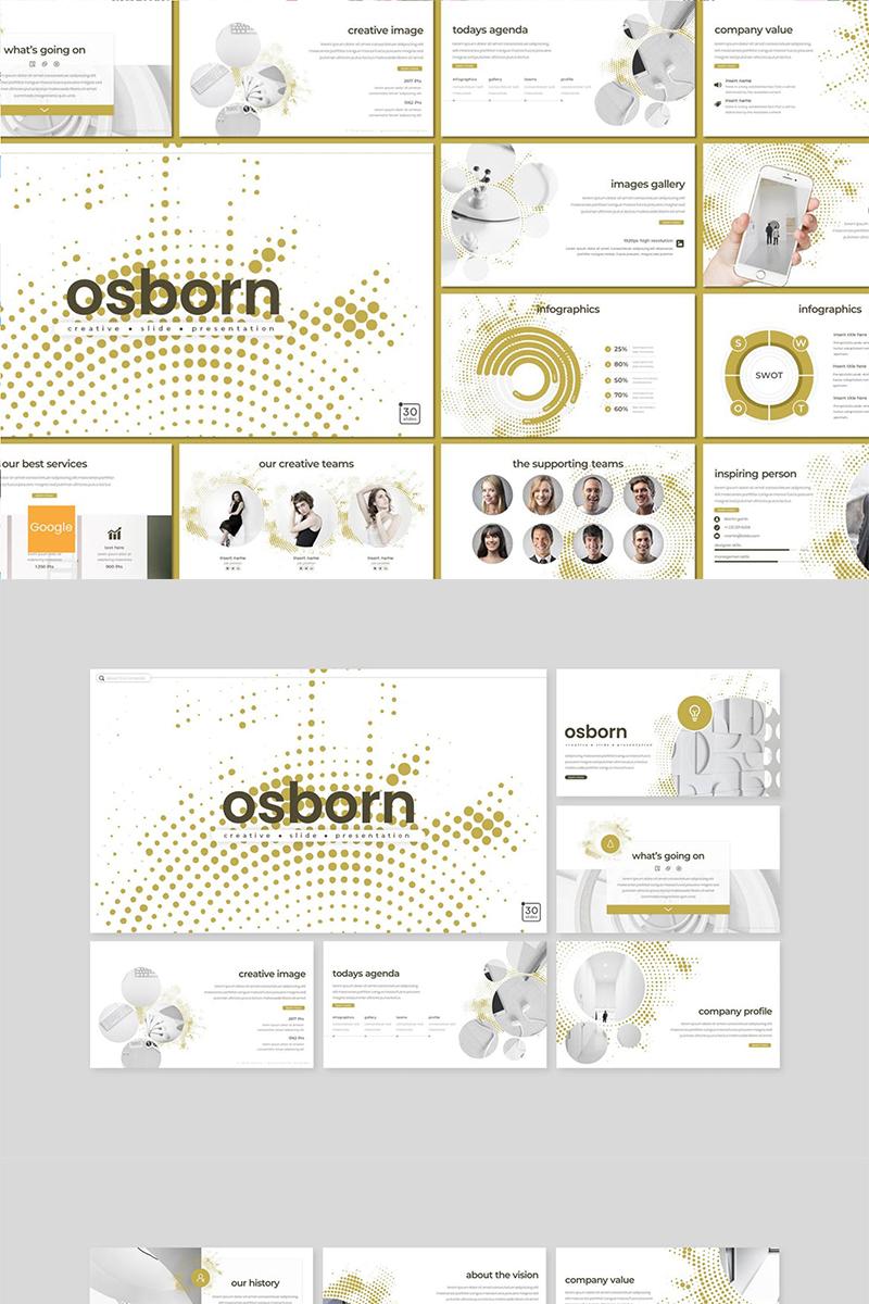 """Osborn"" Google Slides №89147 - screenshot"