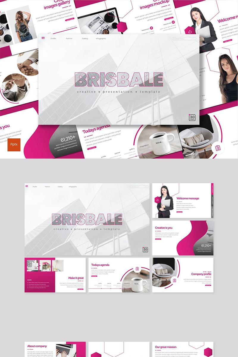 """PowerPoint šablona """"Brisbale"""" #89143"""