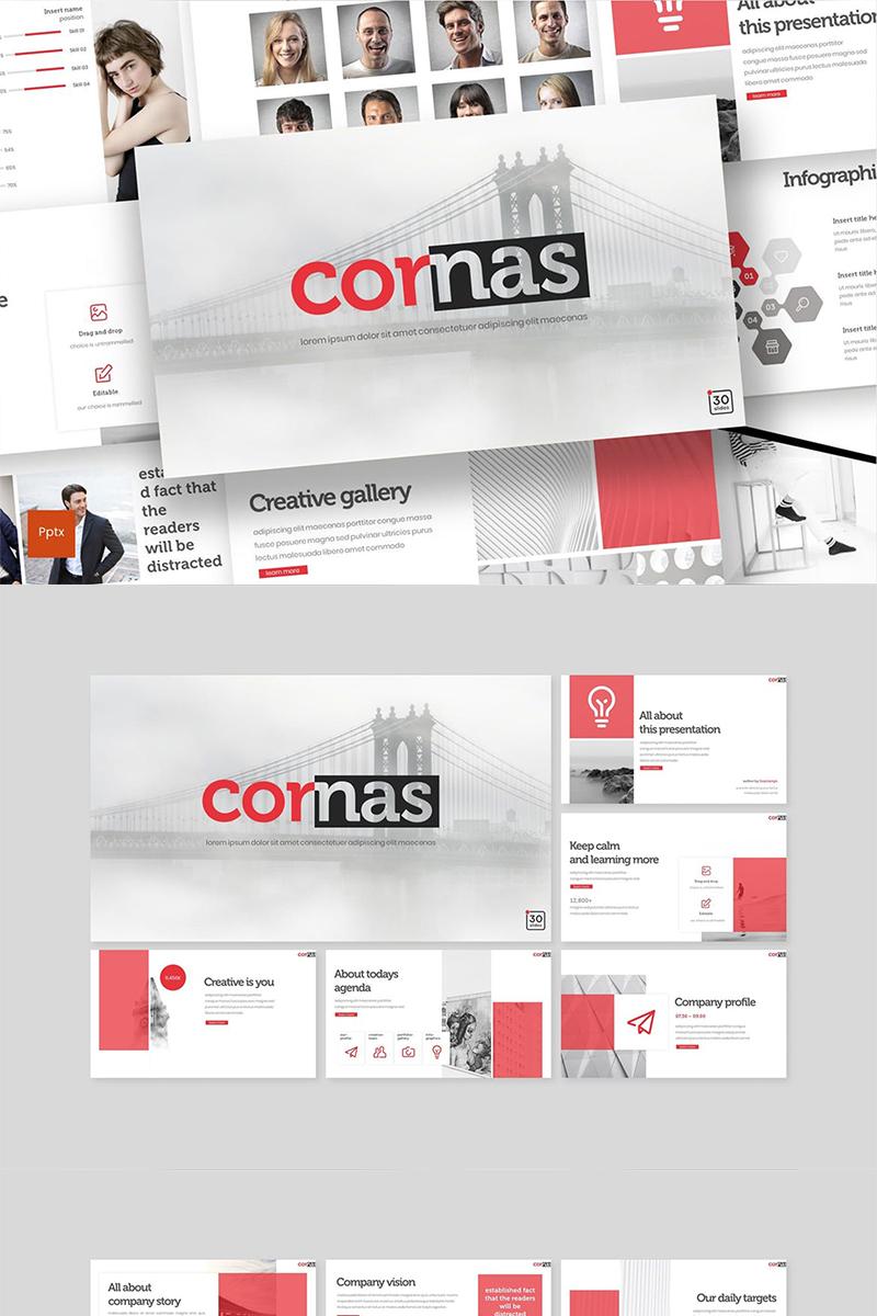 """PowerPoint šablona """"Cornas"""" #89140"""