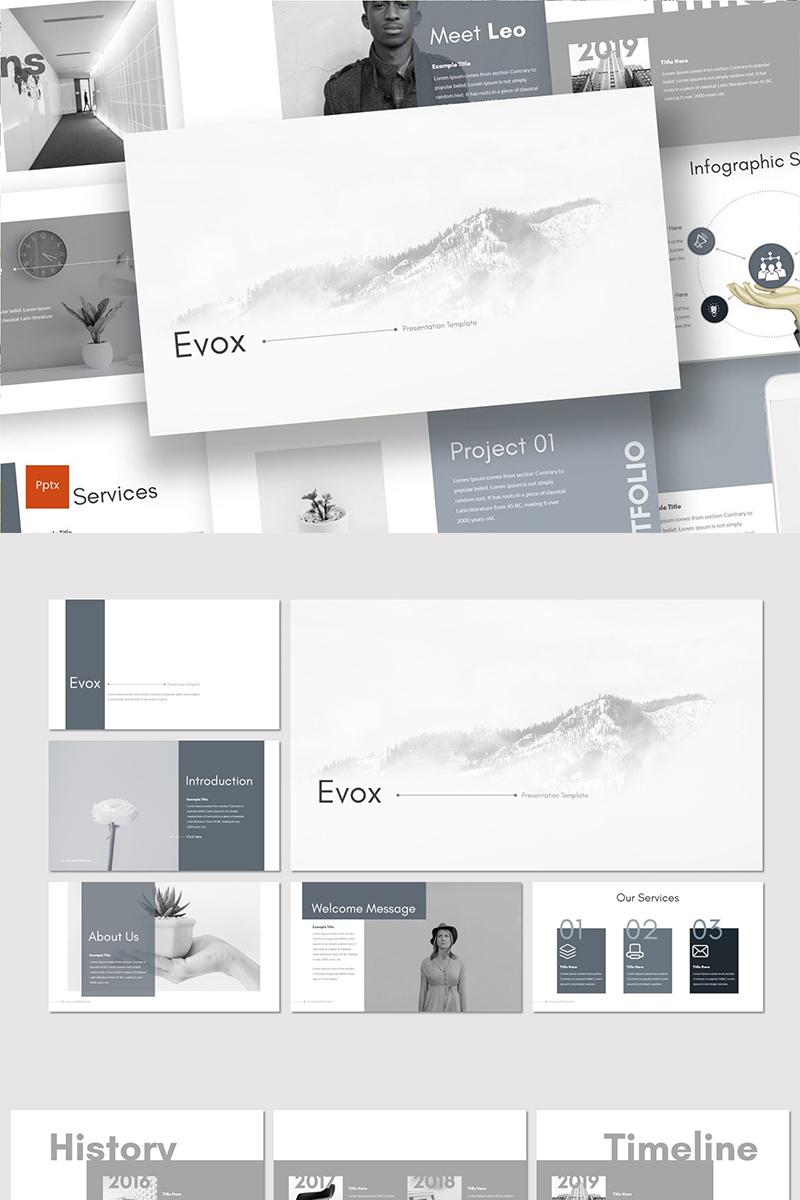 "PowerPoint šablona ""Evox"" #89135"
