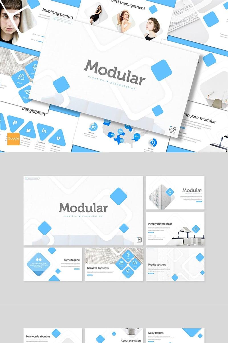 "Tema Google Slides #89154 ""Modular"""