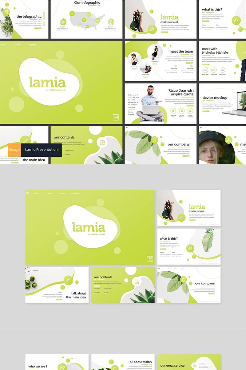 "Tema Google Slides #89157 ""Lamia"""