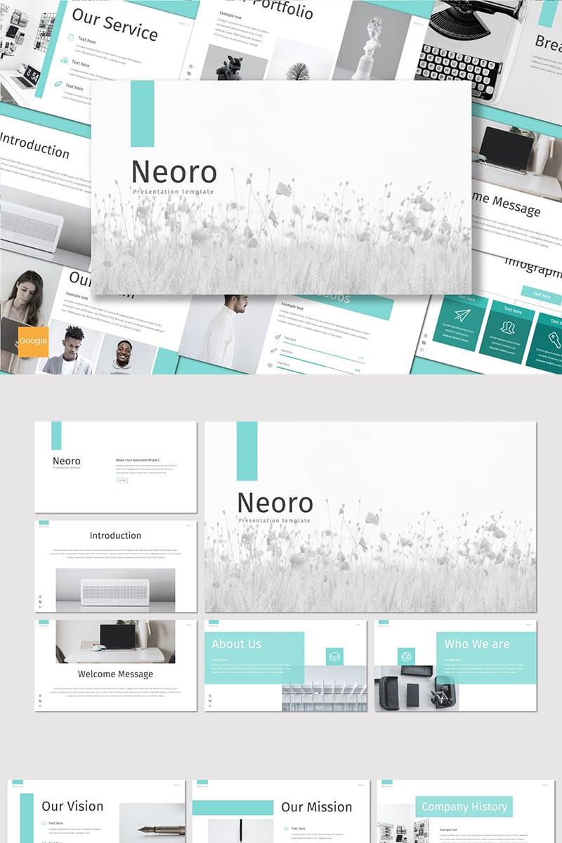 "Template Google Slides #89149 ""Neoro"" - screenshot"