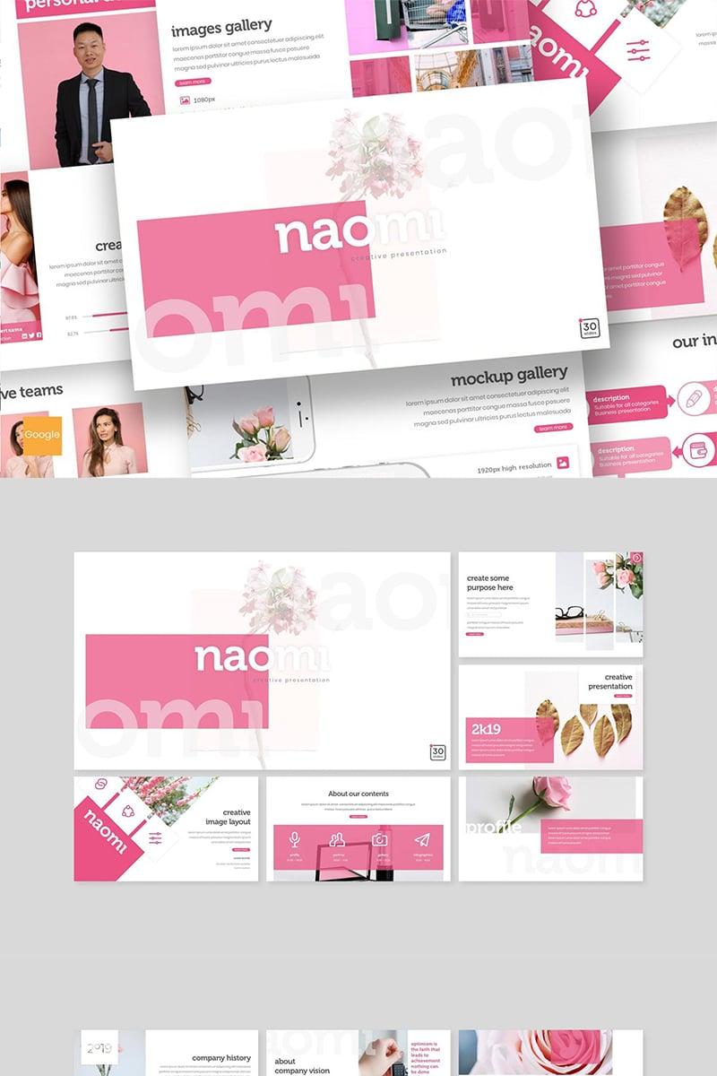 "Template Google Slides #89152 ""Naomi"" - screenshot"
