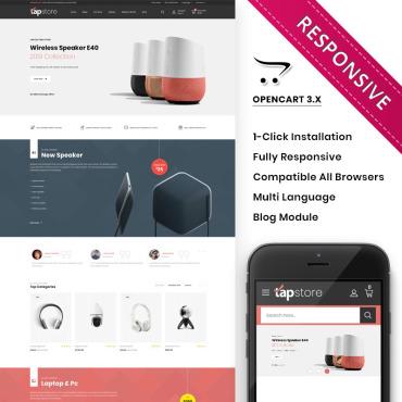 Купить  пофессиональные OpenCart шаблоны. Купить шаблон #89233 и создать сайт.