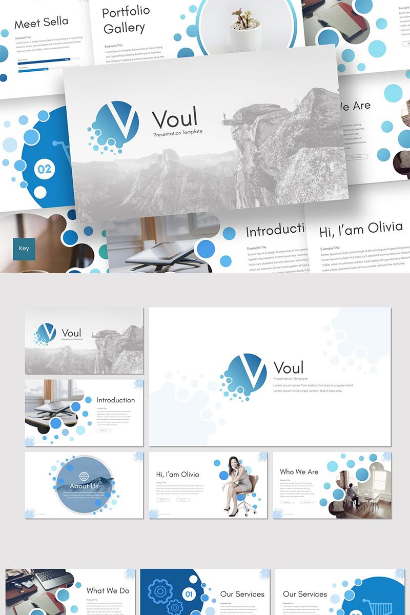 """Keynote Vorlage namens """"Voul"""" #89281"""