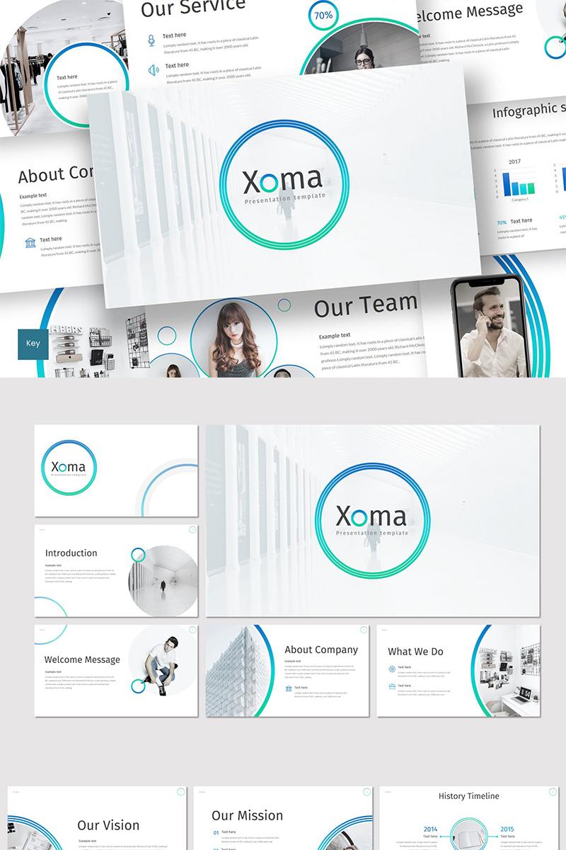 """Keynote Vorlage namens """"Xoma"""" #89279"""