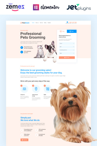 PetsGroom - Dog & Cat Grooming