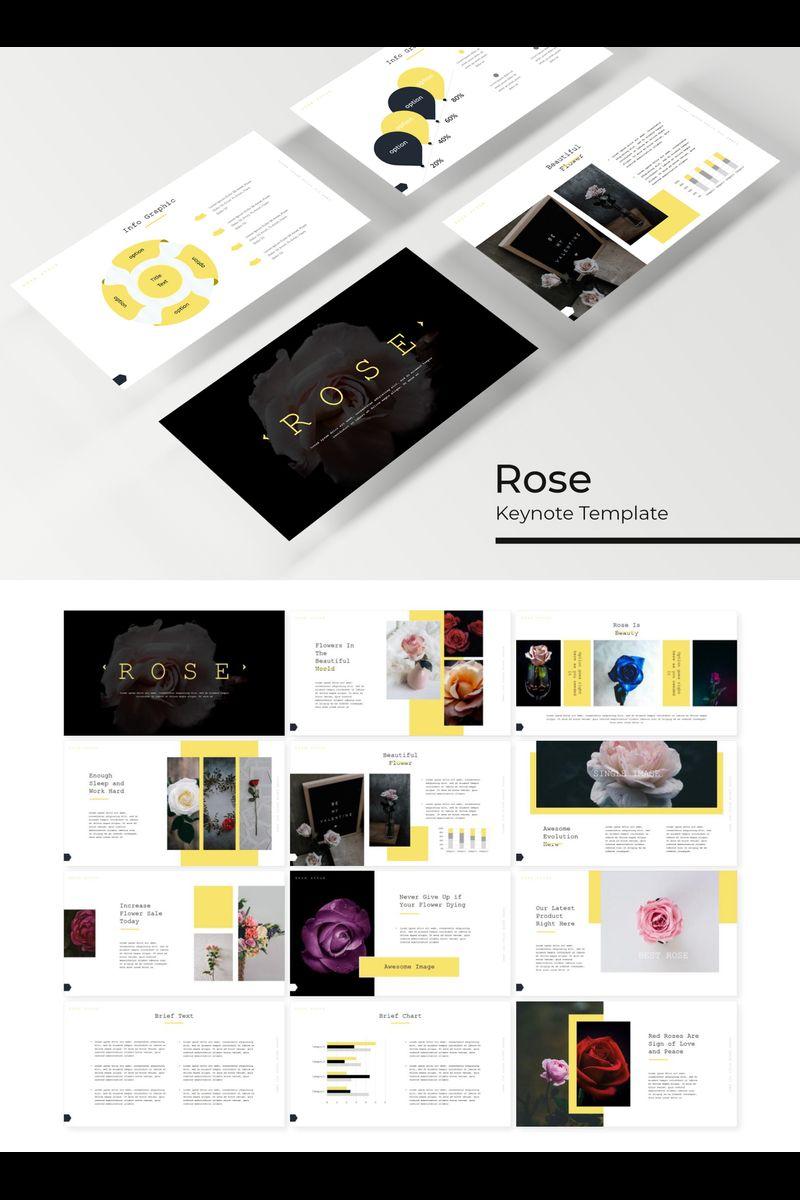 Rose Keynote sablon 89227