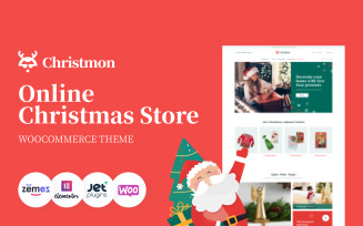 Christmon - Christmas Handicraft eCommerce Website WooCommerce Theme