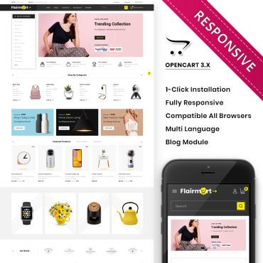 Купить  пофессиональные OpenCart шаблоны. Купить шаблон #89311 и создать сайт.