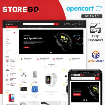 Купить  пофессиональные OpenCart шаблоны. Купить шаблон #89333 и создать сайт.