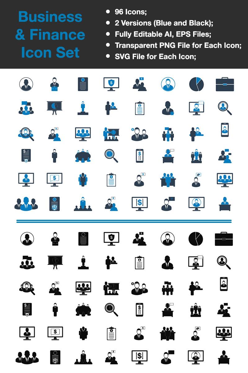 """Business & Finance - Premium Vector"" Premium Iconset template №89335 - screenshot"