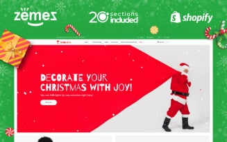 Christmas Gifts Store Shopify Theme