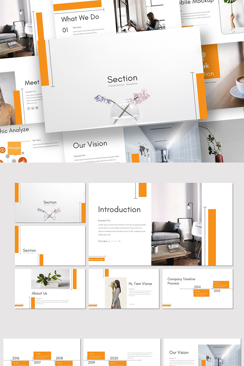 "Google Slides ""Section"" #89394"