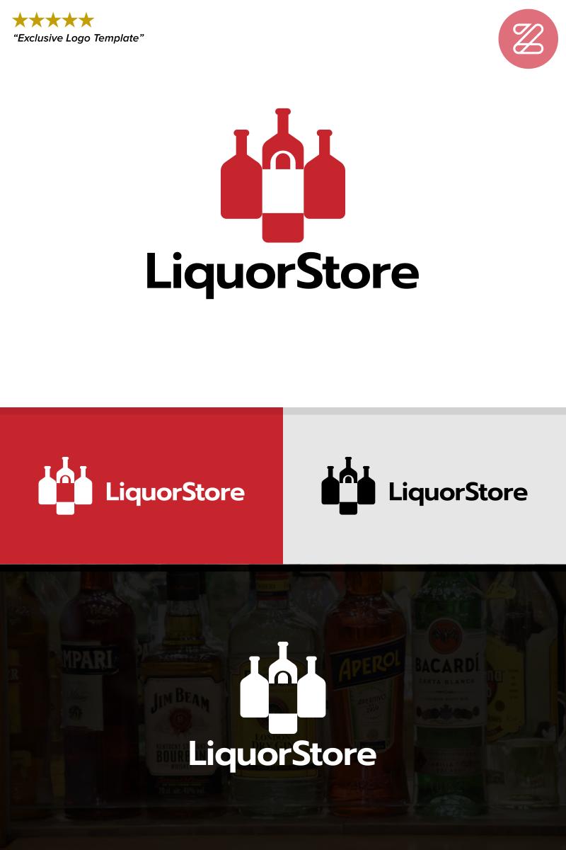 Vector card, flyer or brochure template for bar, pub or liquor.
