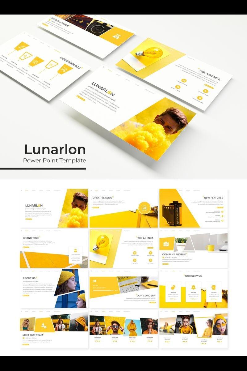 Lunarlon PowerPoint Template