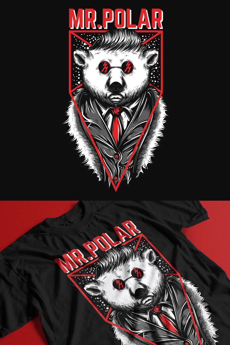 Mr. Polar T-shirt - screenshot