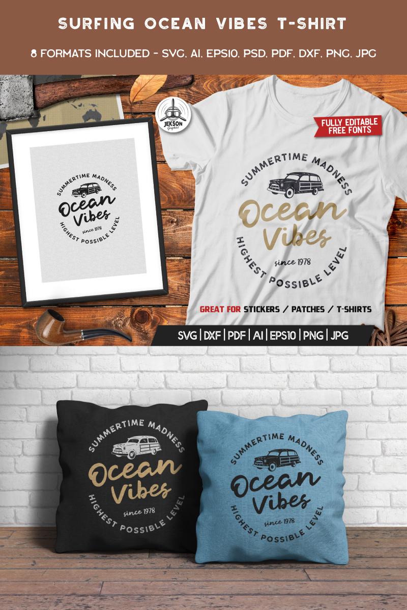 Ocean Vibes, Surfing №89339 - скриншот