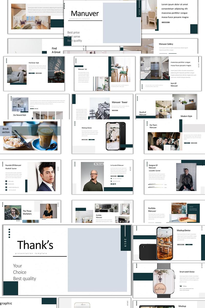 Prémium Manuver PowerPoint sablon 89364