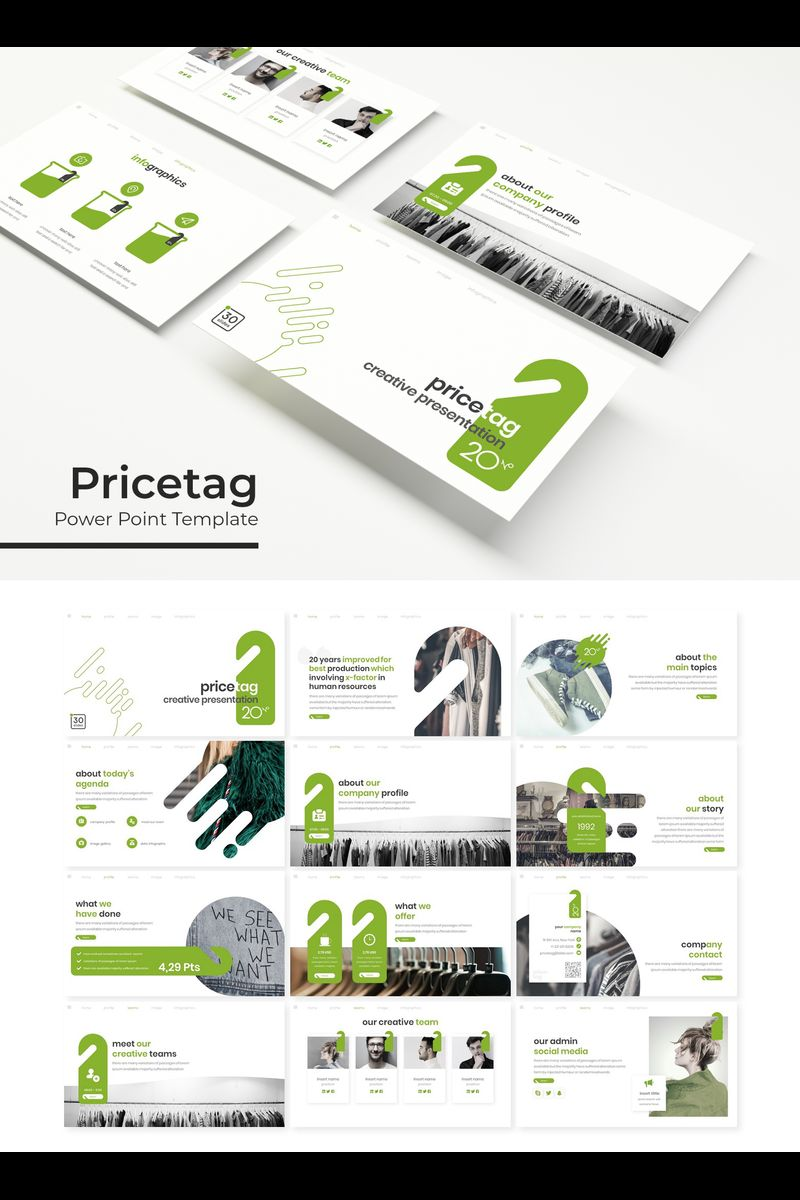 Pricetag PowerPoint Template