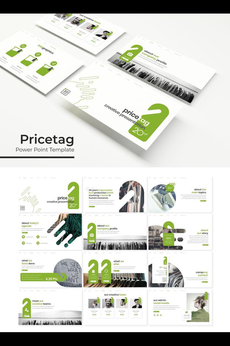 Pricetag Template PowerPoint №89326