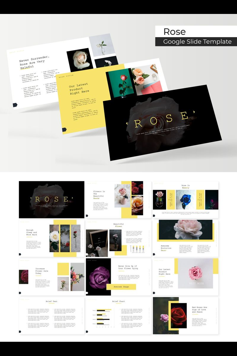 Rose Google Slides