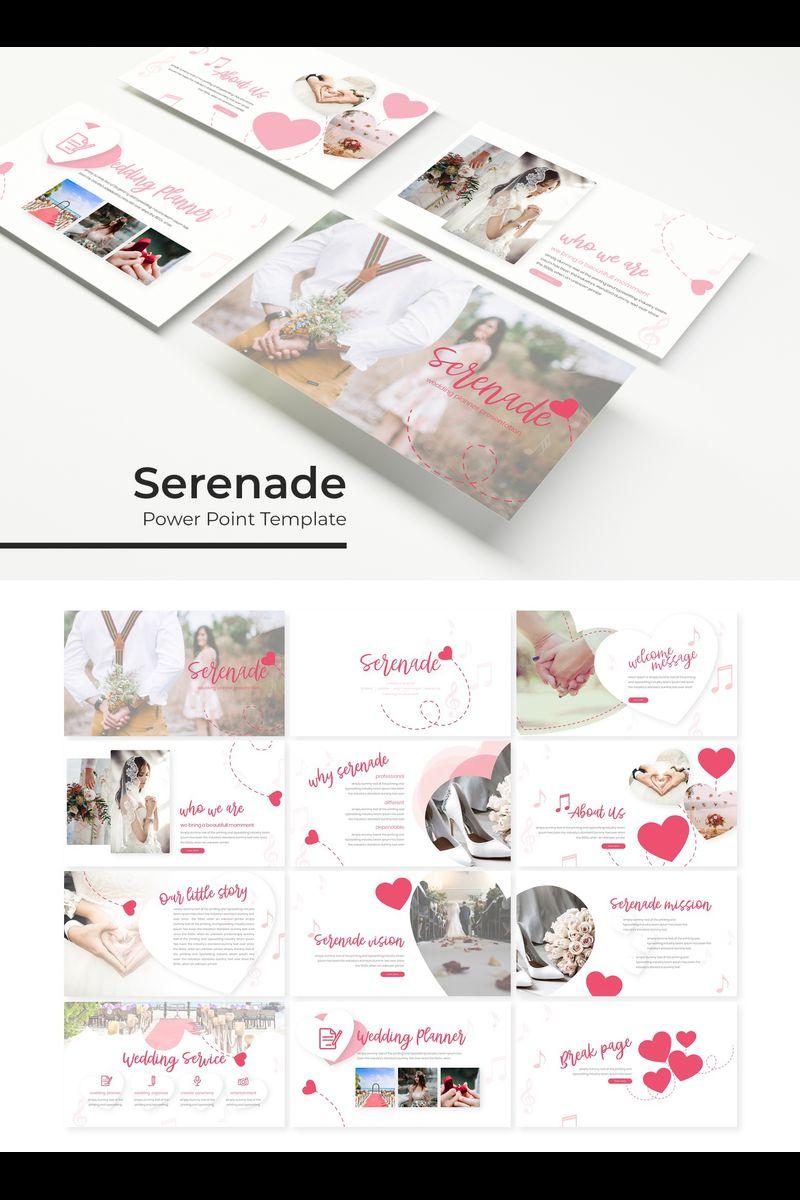 Serenade Template PowerPoint №89320