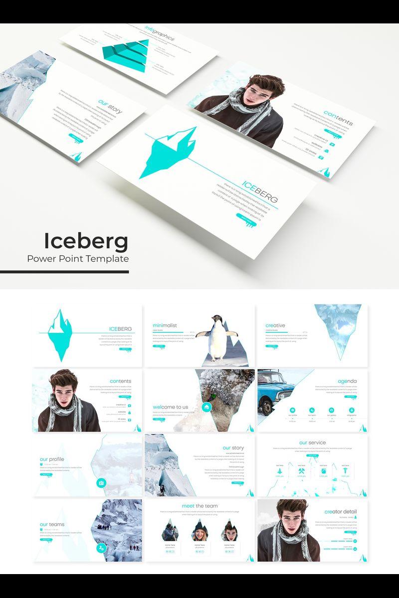 Szablon PowerPoint Iceberg #89377