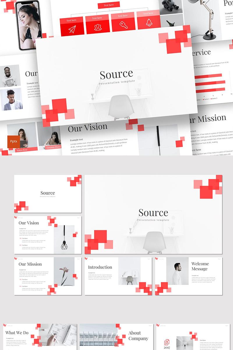 Szablon PowerPoint Source #89319