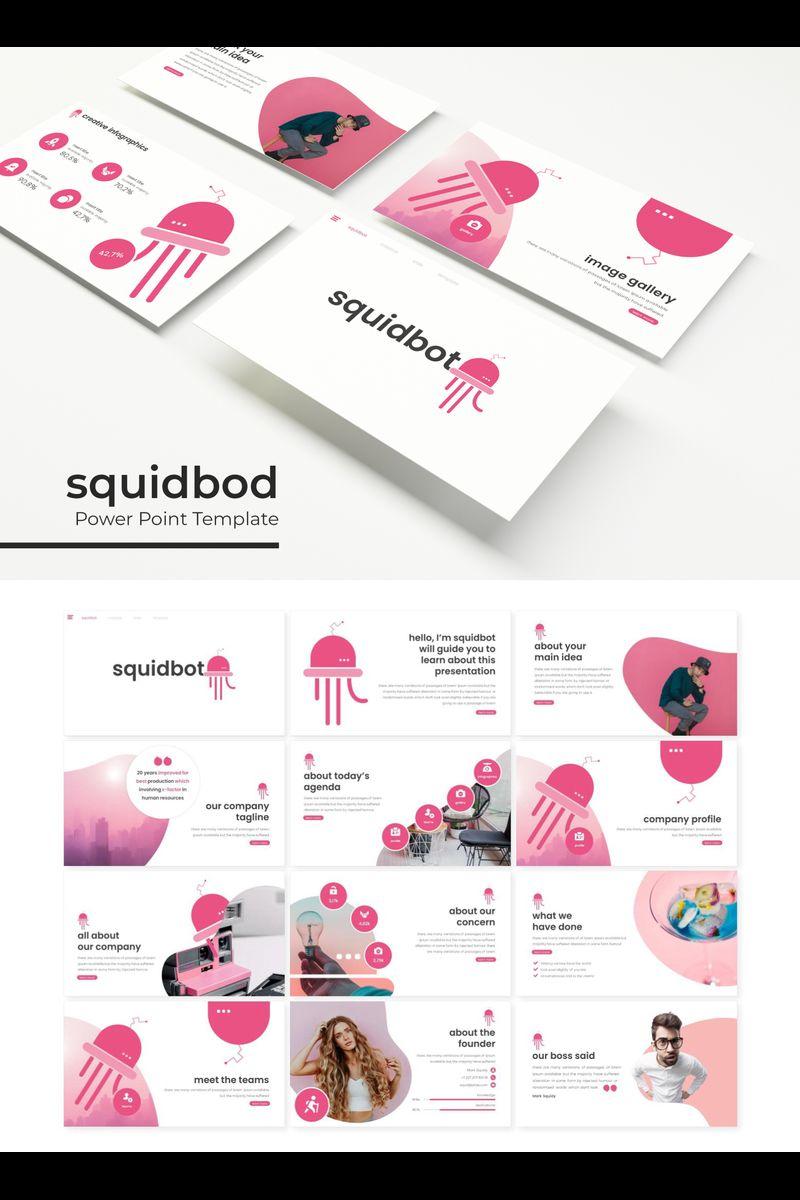 Szablon PowerPoint Squidbod #89316
