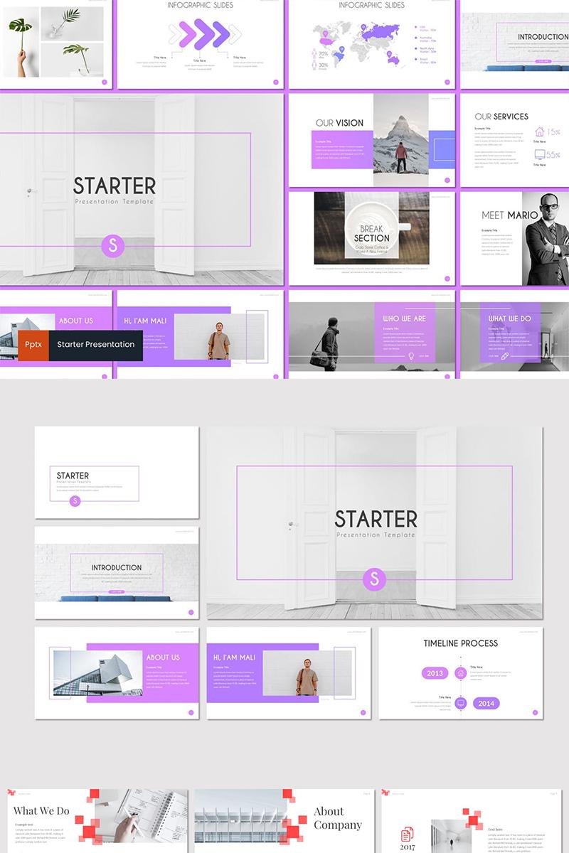 Szablon PowerPoint Starter #89312