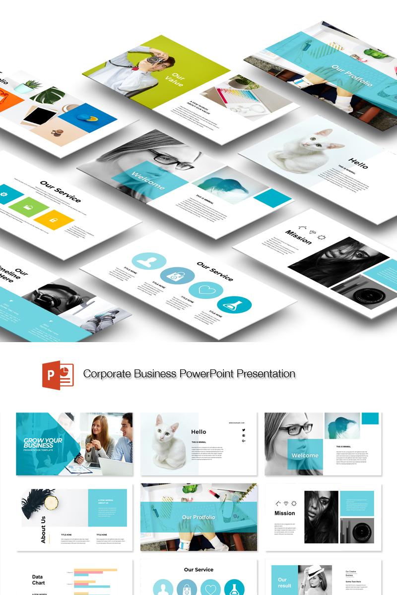 Business Grow Presentation Template PowerPoint №89440