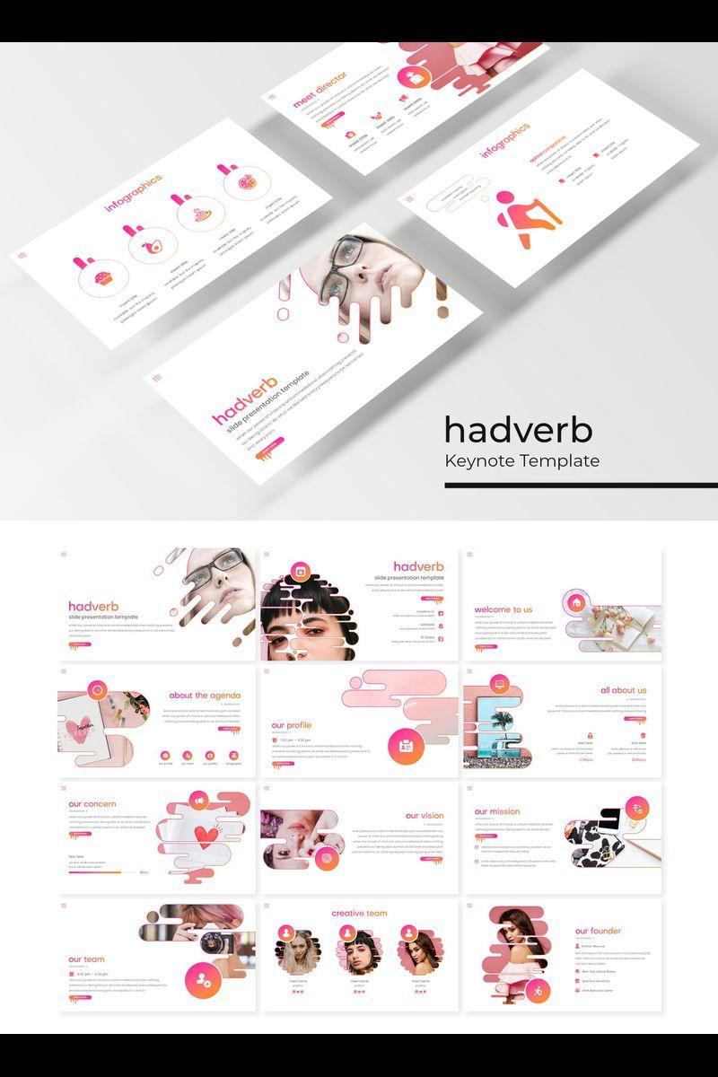 """""""Hadverb"""" modèle Keynote  #89414"""